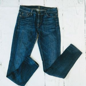 7 For All Mankind Roxanne Skinny Jeans. Size 28
